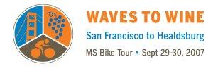Waves to Wine Logo